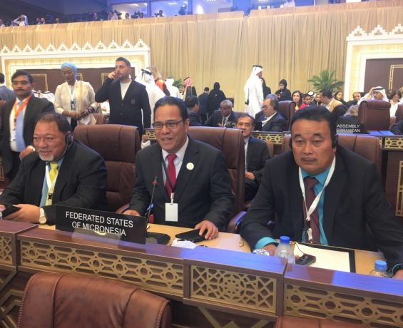 FSM Congress Highlights Education and other National Concerns at 140th IPU Assembly